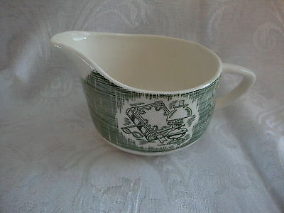 "VINTAGE ""THE OLD CURIOSITY SHOP"" CREAMER by ROYAL CHINA"