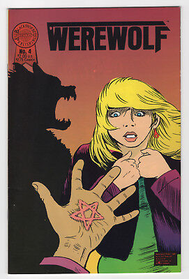 Werewolf #4 (Jan 1989, Blackthorne) Lance Hampton Donnie Jupiter w