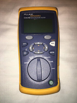 Fluke CableIQ Cable IQ Qualification Tester (No wiremap adapter)