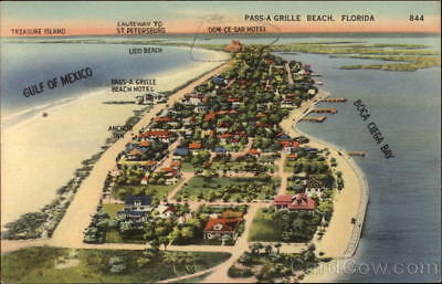 Pass-a-Grille Beach,FL Overview of Pass-A Grille Beach Pinellas County Florida