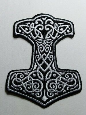 Amon Amarth Sew Iron On Patch Embroidered Melodic Death Metal Viking Rock Band
