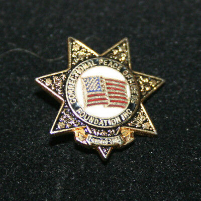 Correctional Peace Officers Foundation Founded 1984 Pin
