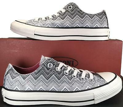 436beb1e62e90d Converse by Missoni Chuck Taylor All Star Ox Low Top Sneaker Black White  147272C