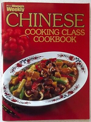 Chinese Cooking Class  Australian Womens Weekly Cookbook Paperback