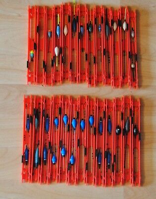 Job Lot Ready Made Carp Silver Pole Rigs On Preston Winders