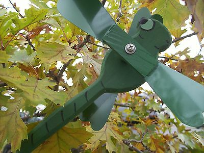 Green Dragonfly Mini Whirligigs Whirligig Windmill Yard Art Hand made from wood