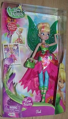 Disney Fairies Deluxe Pixie Prints Tink Tinkerbell doll toy
