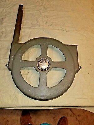 "WALKER TURNER BN730 12"" Band Saw Lower Wheel Cover Guard  & Rear Blade Guard"