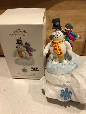 Hallmark Keepsake Ornament 2012 Frosty the Snowman Comes to Life