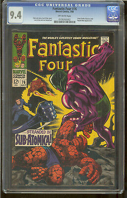Fantastic Four 76 CGC 9.4 Silver Surfer, Galactus and Psycho-Man