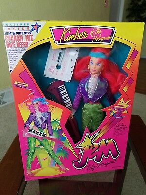 Jem and the Holograms 1986 Classic 2nd Year Kimber Doll NRFB by Hasbro