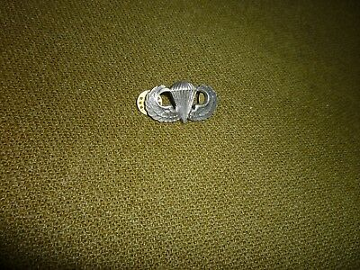 US Paratrooper Jump Wings Badge, Silver Filled, WW2 or Later