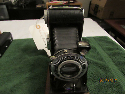 "Vintage Agfa Billy Compur Folding Bellows Camera Circa 1935 ""working"""