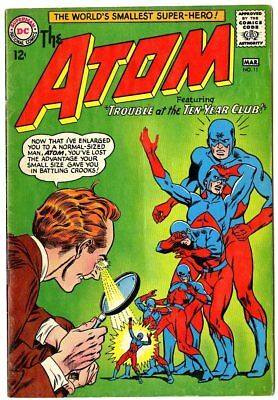 Atom #11 VG+ 4.5 ow/white pages  DC  1964  No Reserve