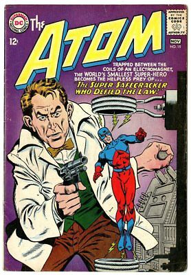 Atom #15 VG+ 4.5 ow/white pages  DC  1964  No Reserve