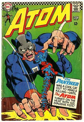 Atom #27 VG 4.0 off-white pages  vs. The Panther  DC  1966  No Reserve