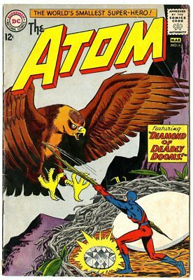 Atom #5 VG 4.0 off-white pages  DC  1963  No Reserve