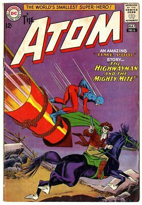 Atom #6 VG/FN 5.0 off-white pages  DC  1963  No Reserve