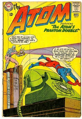 Atom #9 VG 4.0 off-white pages  DC  1963  No Reserve