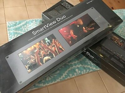 Blackmagic Design SmartView Duo Dual SDI Rackmount Monitors
