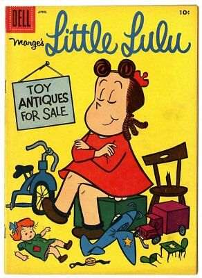 Little Lulu #106 VF 8.0 off-white pages  Dell  1957  No Reserve
