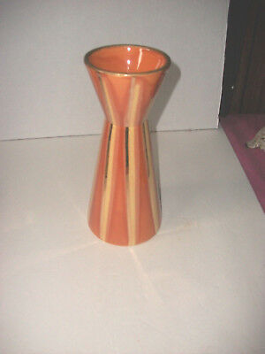Mid Century Modern Hull Candle Holder Continental Persimmon Excellent L@@k