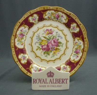 """Antique LADY HAMILTON Royal Albert England Crown China 8"""" Salad Lunch Plate (s)"""