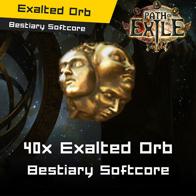 Path of Exile - PoE Currency - Abyss Softcore - 10x Exalted Orb