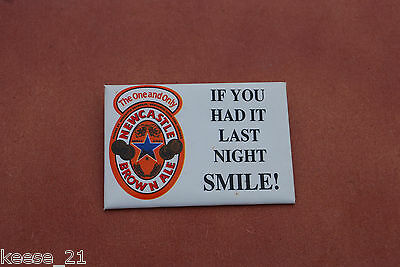 Newcastle Brown Ale Beer Promo Button Pinback