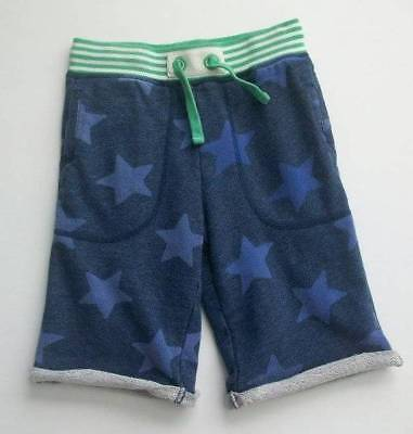 jl Mini Boden Boys Green Blue Rib Waist Star Sweat Shorts Sweatshorts 9