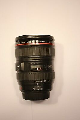 Canon L-series 24-105mm F/4 L IS USM Lens for Canon EOS 5D, 7D, 70D camera DSLR
