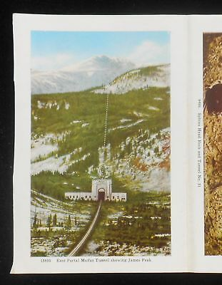 1940 James Peak Route Denver and Rio Grande Western Railroad Tennessee Pass CO