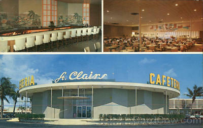 Pompano Beach,FL St. Clairs Cafeteria and Cocktail Lounge Broward County
