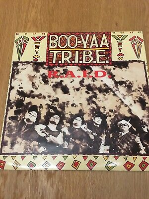 """BOO YAA TRIBE r.a.i.d. 12"""" PS EX/EX fourth and broadway 12 BRW158 sos"""