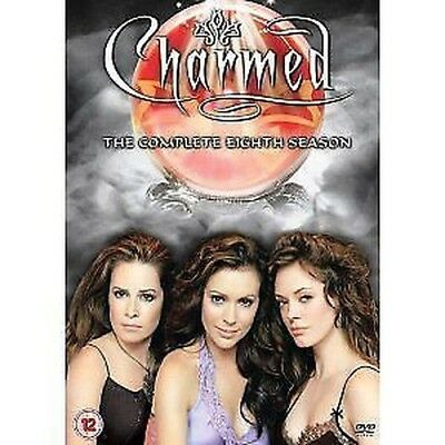 Charmed The complete 8. eighth Season 6 DVD NEW & original box