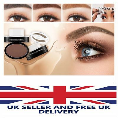 NEW UK EYEBROW STAMP Powder Palette Natural Definition Brow Makeup Cosmetic