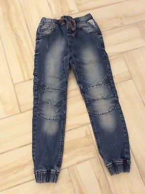 Boys Next Blue Denim Cuffed Relaxed Jeans Age 11 Years