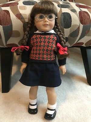 Retired American Girl Doll Molly with Book