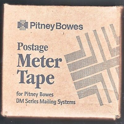 Pitney Bowes Postage Meter Tape 3 Rolls /adhesive 10D #1309 New Sealed Box