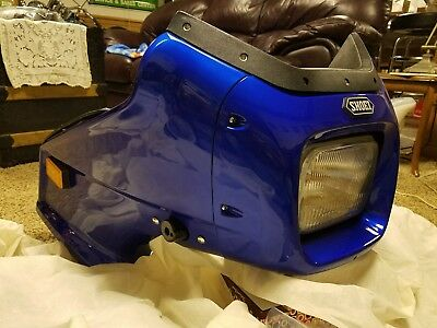 Nos Shoei Gf 2 Fairing Sport Touring Universal Fit Vetter Motorcycle Cafe Racer 163 610 78