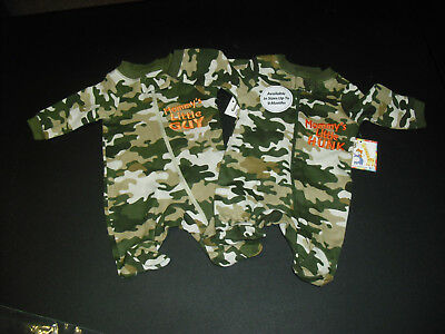preemie boy lightweight sleepers new without tags camouflage size preemie