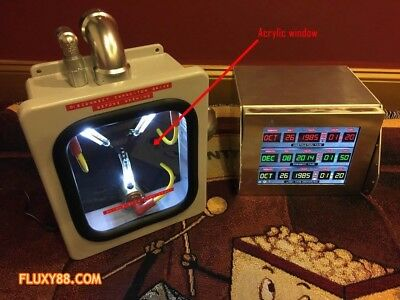 Back to the Future - Acrylic Flux Capacitor Window