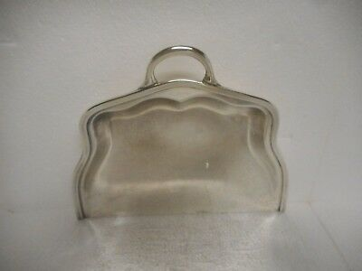 Chicago, Milwaukee, St. Paul And Pacific Railroad Silver Crumb Tray