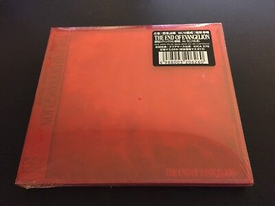 The End of Evangelion music CD, Japanese version 1997 Sealed