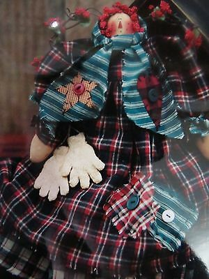** FLANNEL ANNIE **  Cloth Doll  pattern..by Meme's Quilts