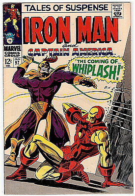 Marvel TALES OF SUSPENSE # 97; JANUARY 1967; VF-; OVERSTREET VALUE $45.00