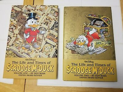 The Life and Times of Scrooge McDuck Volume 1 and 2 Hardcover