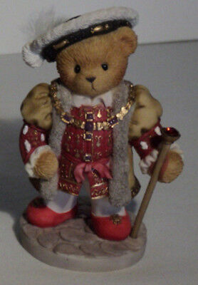 """Cherished Teddies 847860 KING HENRY Rare UK Excl """"Special Edition"""" MIB"""