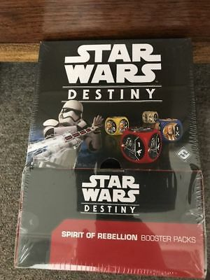 Star Wars Destiny: Spirit of Rebellion Booster Box *SEALED*