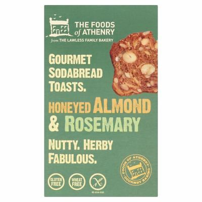 The Foods Of Athenry | Gluten free Almond  Rosemary Toasts 110g